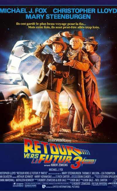 Retour vers le futur, l'affiche de Drew Struzan