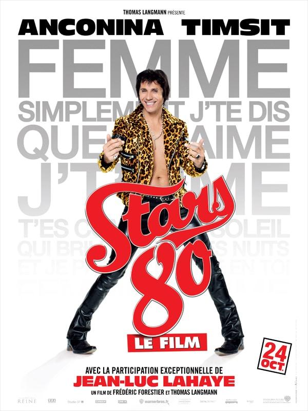 Stars 80 le film, affiche personnage de Jean-Luc Lahaye