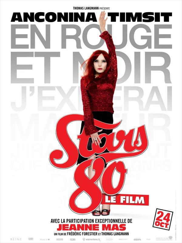 Stars 80 le film, affiche personnage Jeanne Mas