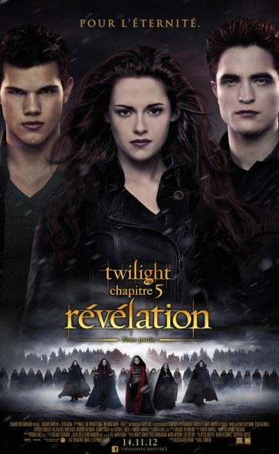 Twilight 5 Révélation, affiche définitive