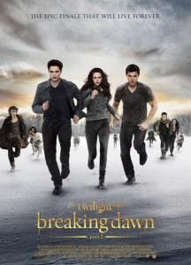 Twilight 5 Révélation, affiche américaine