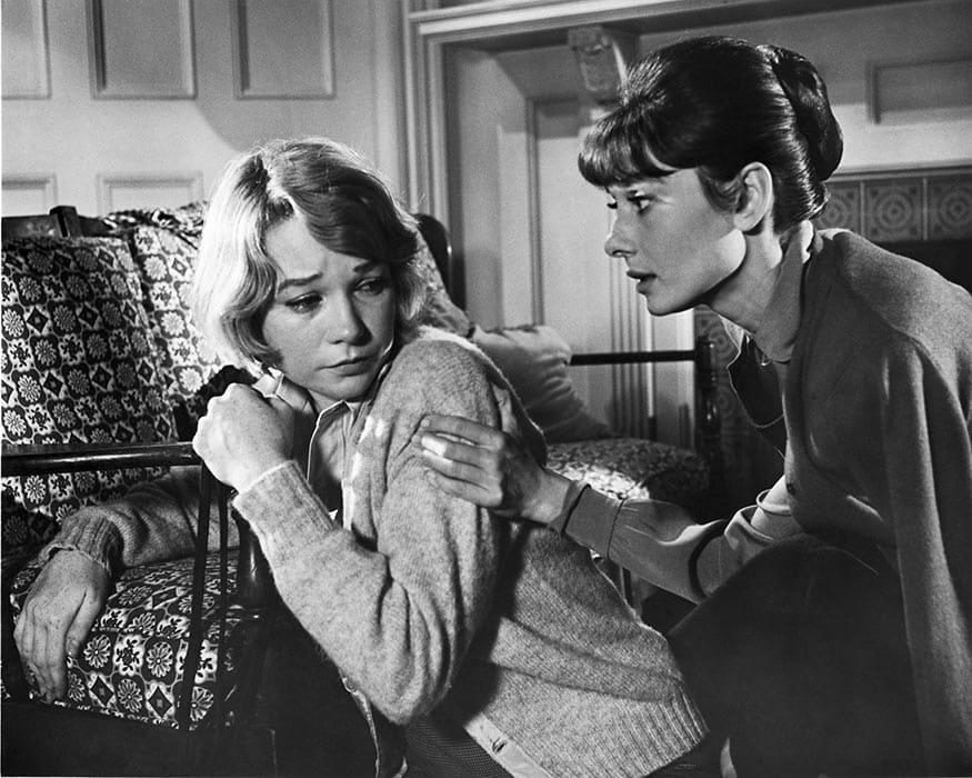 La rumeur avec Audrey Hepburn et Shirley MacLaine
