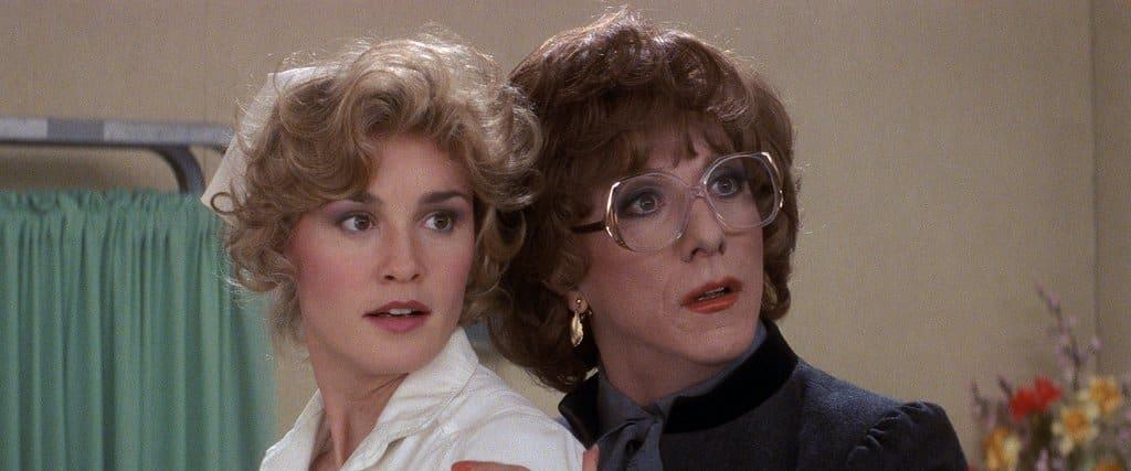 Dustin Hoffman et Jessica Lange dans Tootsie