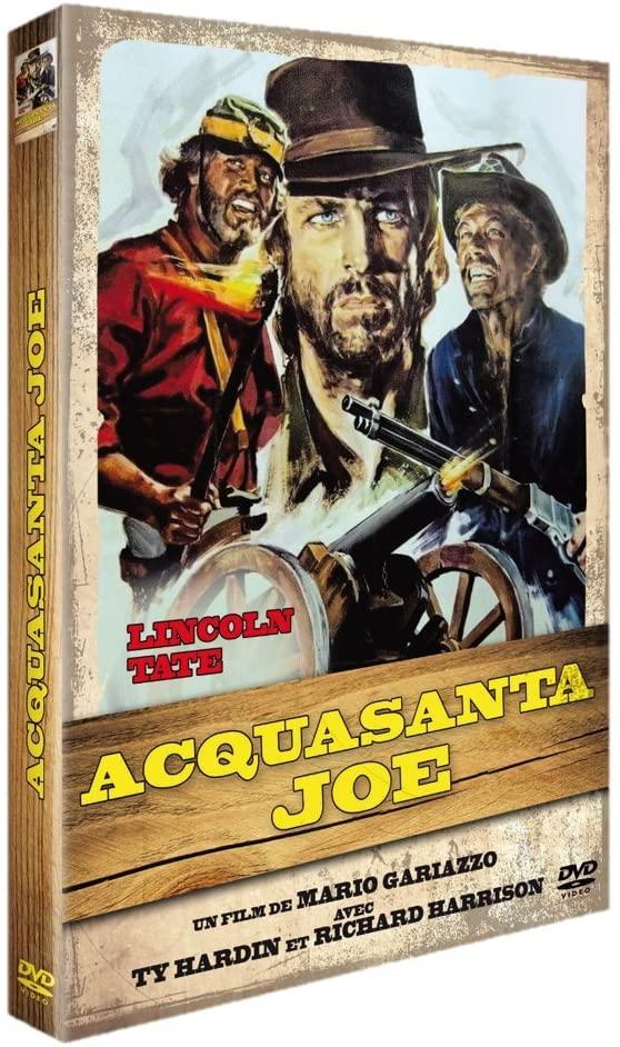 Acquasanta Joe, la jaquette DVD