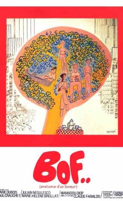 Bof... anatomie d'un livreur, affiche de Sempe