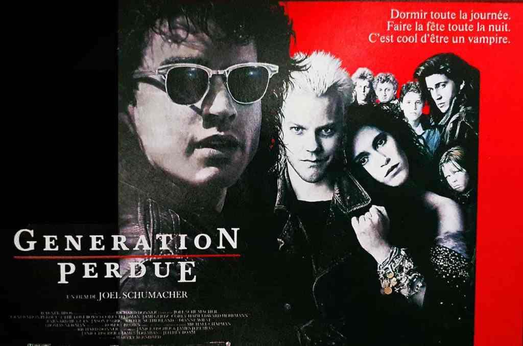 Génération perdue, affiche 4X3 du film de Joel Schumacher