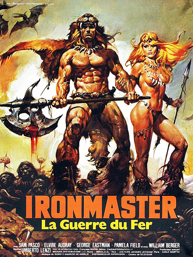 Ironmaster la guerre du fer, affiche du film de Umberto Lenzi par Casaro
