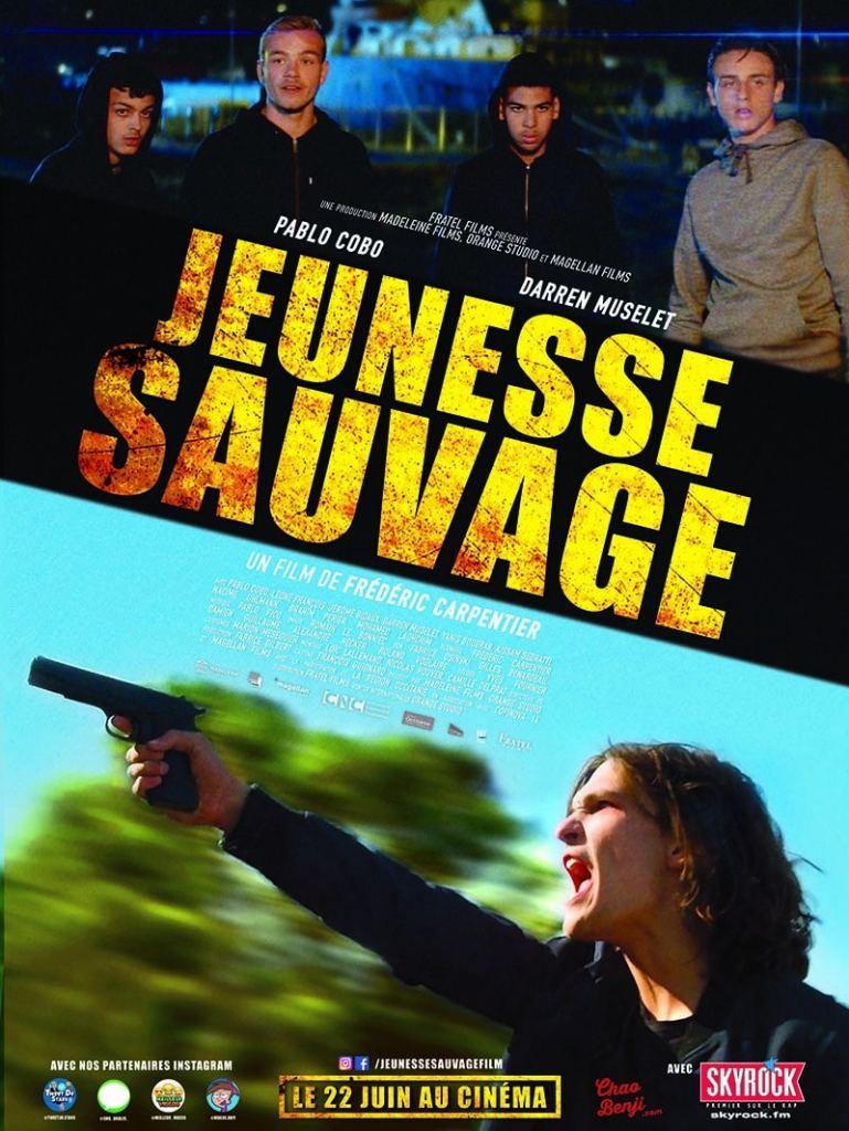 Jeunesse sauvage, affiche du film