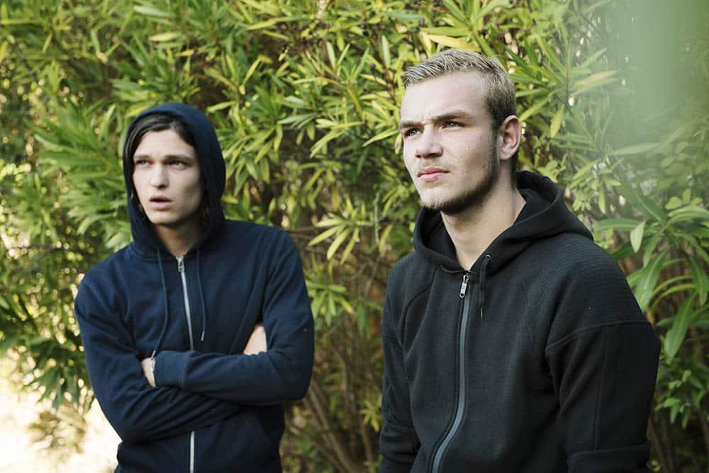Pabloc Cobo et Darren Muselet dans Jeunesse sauvage