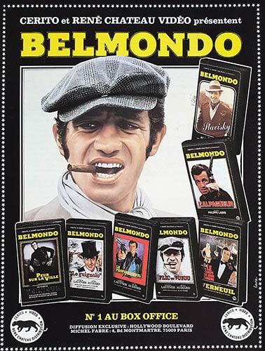 Belmondo, promo VHS 1982