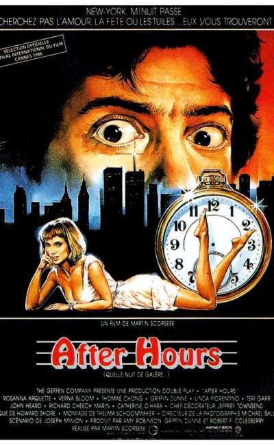 After Hours, l'affiche