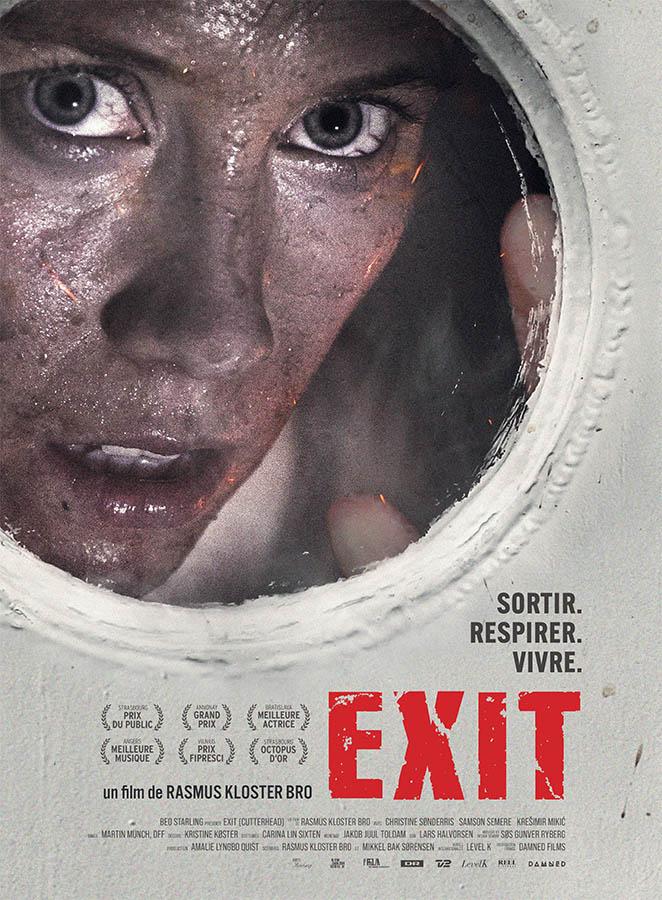 Exit, affiche du film de Rasmus Kloster Bro