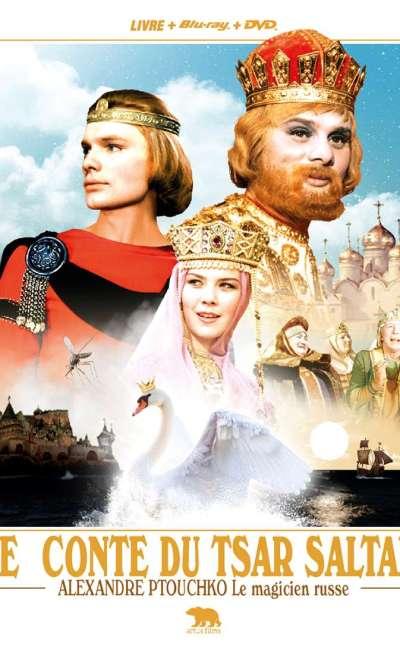 Le conte du tsar Saltan, la jaquette blu-ray