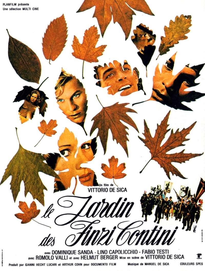 Le jardin des Finzi-Contini, l'affiche 1970