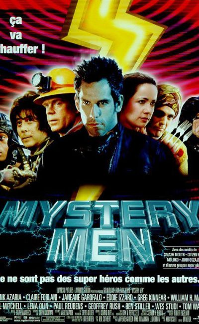 Mystery Men affiche du film