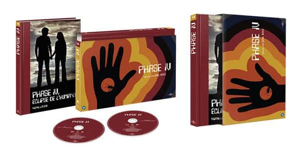 Phase IV, coffret ultra Book édité par Carlotta