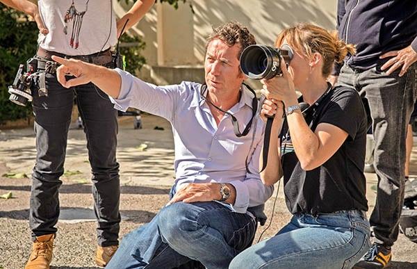 Méliane Marcaggi sur le tournage de Belle Fille (2020)