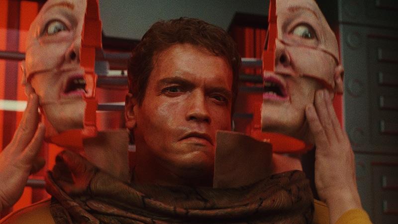 Arnold Schwarzenegger dans Total Recall, 4K -