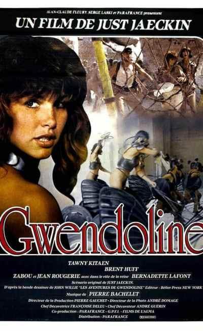 Gwendoline, affiche cinéma du film de Just Jaeckin SD