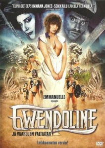 Edition cover finlandaise de Gwendoline