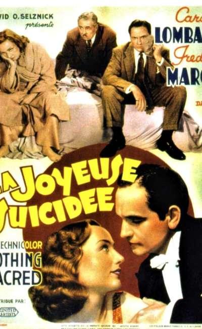 La joyeuse suicidée, l'affiche