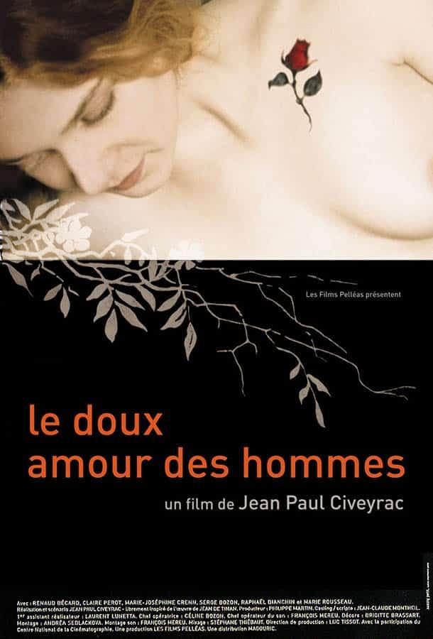 Le doux amour des hommes, affiche du film de Jean-Paul Civeyrac