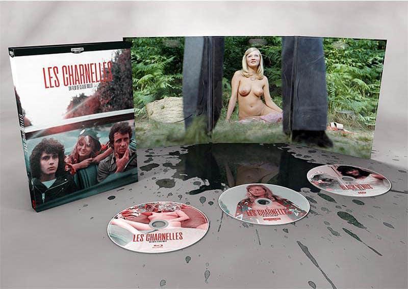 Les Charnelles, packaging DVD
