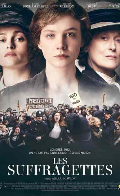 Les Suffragettes, affiche du film de Sarah Gavron