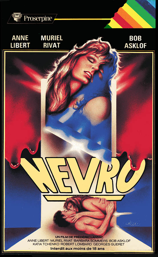 Jaquette Nevro - les Charnelles, VHS