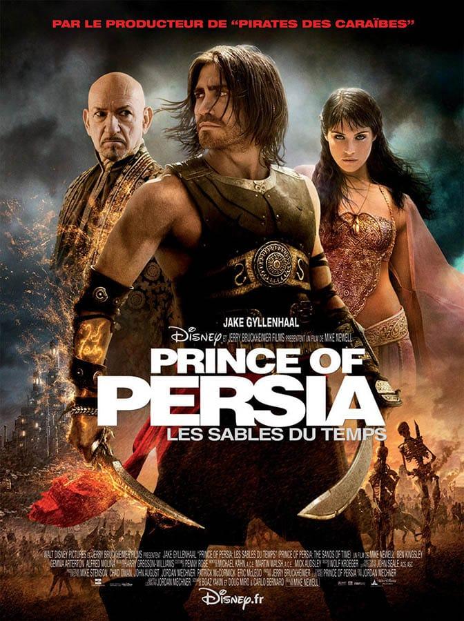 Affiche cinéma définitive de Prince of Persia