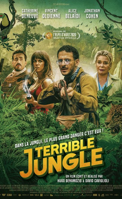 Terrible Jungle : affiche du film