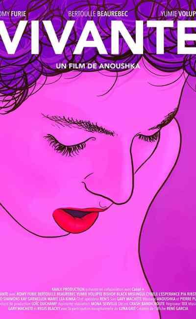 Vivante de Anoushka, affiche du film porno érotique