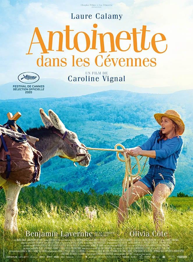 Antoinette dans les Cévennes, affiche définitive