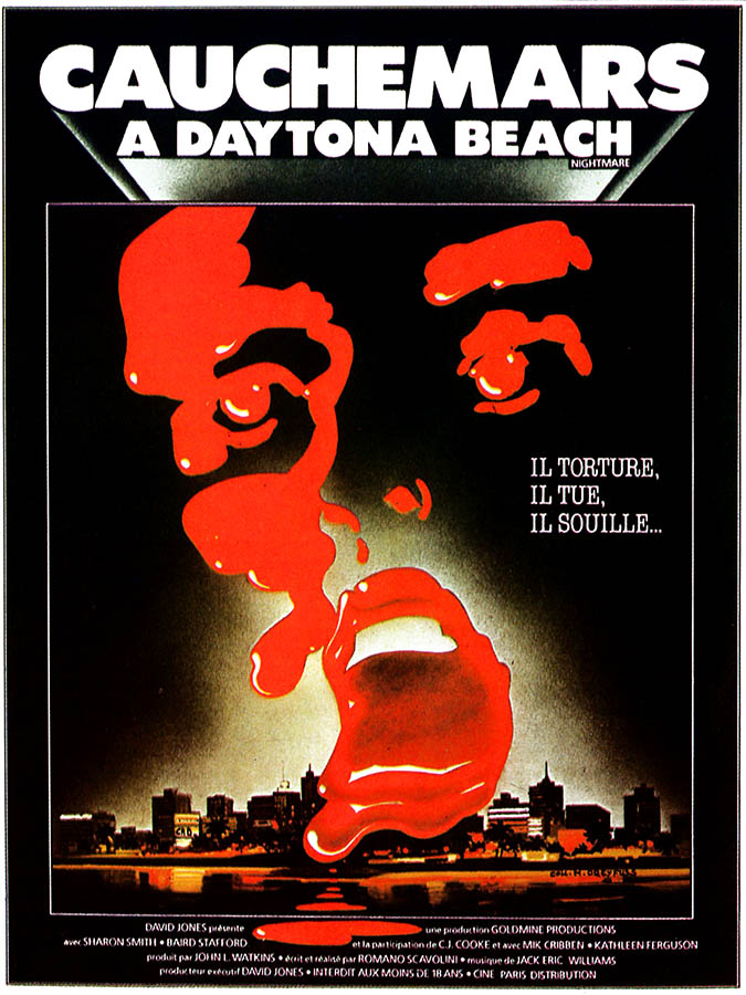 Cauchemars à Daytona Beach, affiche (Nightmares)