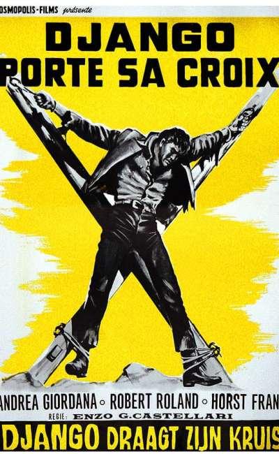 Django porte sa croix, affiche belge