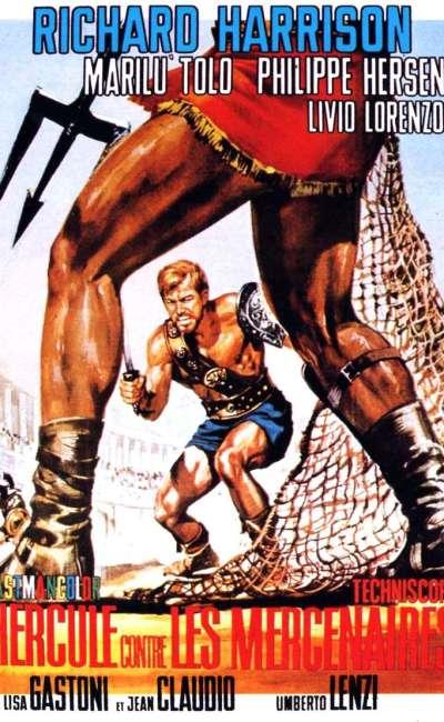 Hercule contre les mercenaires, l'affiche