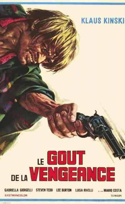 Le goût de la vengeance, affiche du film de Mario Costa, avec Klaus Kinski