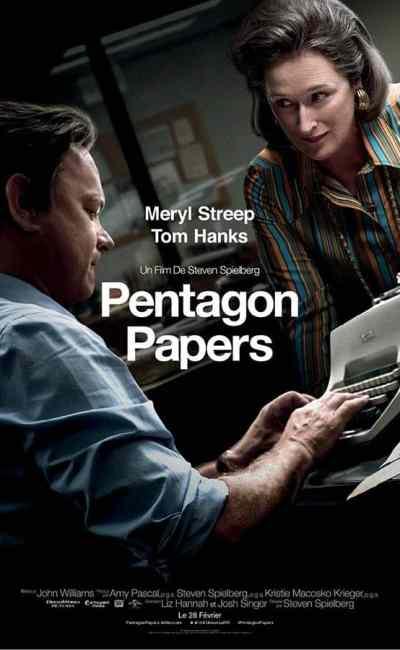 Affiche définitive de Pentagon Papers