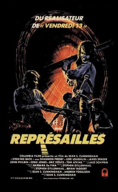 Représailles (The New Kid), cover VHS