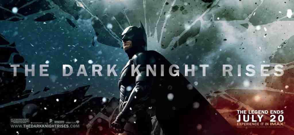 Affiche américaine de The Dark Knight Rises