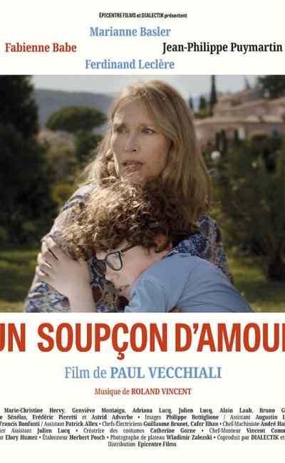 Un soupçon d'amour, affiche du film de Paul Vecchiali