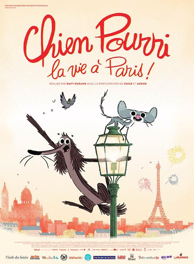 Chien pourri la vie à Paris, affiche