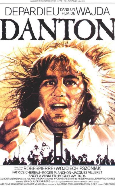 Affiche de Danton d'Andrzej Wajda