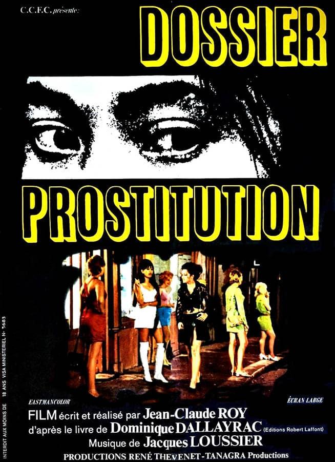 Dossier prostitution de Jean-Claude Roy, affiche