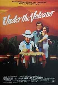 En-dessous du volcan, affiche cannoise