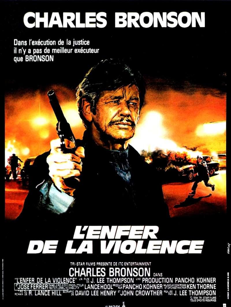 L'enfer de la violence, l'affiche