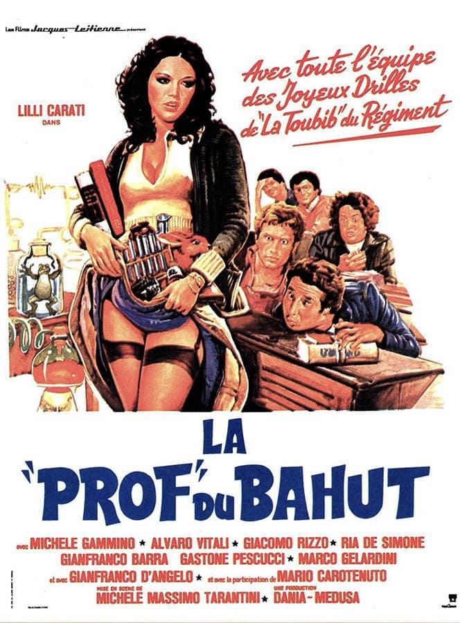 La prof du bahut : l'affiche du film