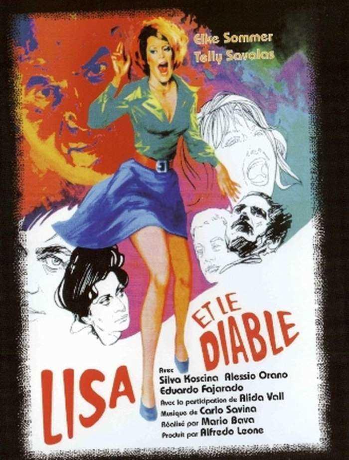 Lisa et le diable, jaquette DVD