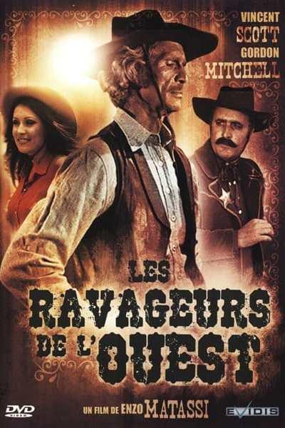 Jaquette du DVD Les ravageurs de l'Ouest