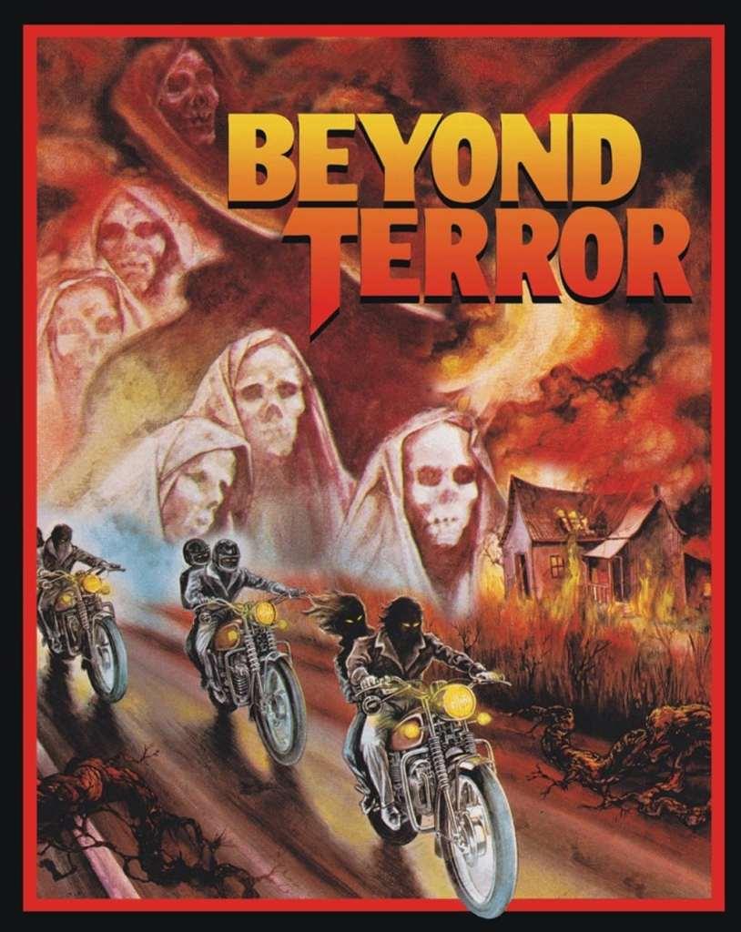 Jaquette/Cover du blu-ray de Au delà de la terreur / Beyond Terror, chez Cauldron Films